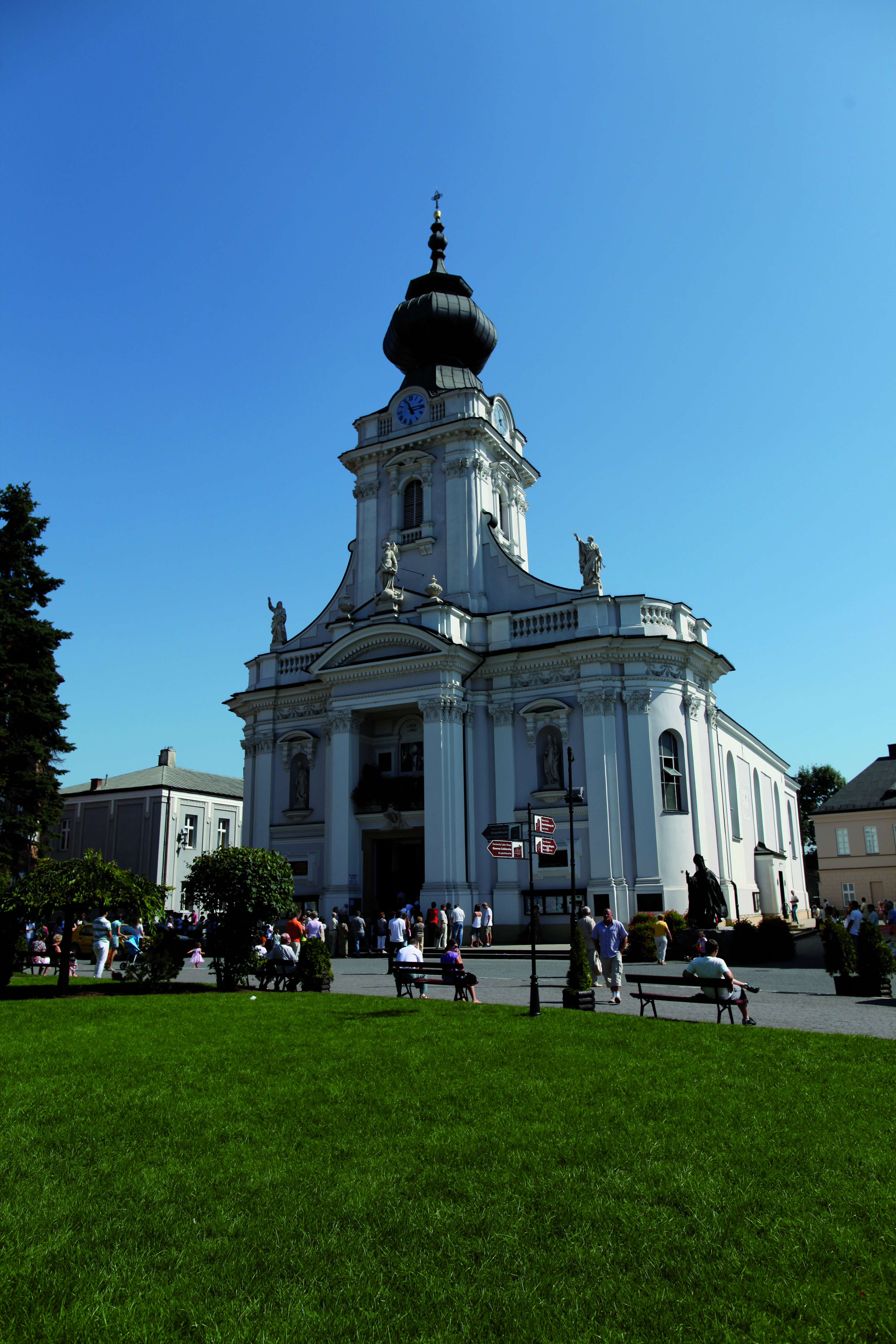 Image: Basilica of the Presentation of the Blessed Virgin Mary, Wadowice