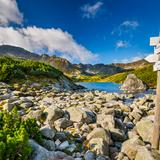 Image: To the Tatra lakes