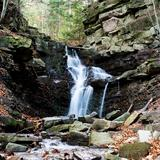 Image: Waterfall on the Mosorny Stream