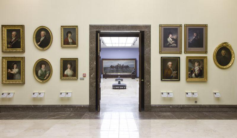 Gallery of 19th-Century Polish Art in Kraków Sukiennice