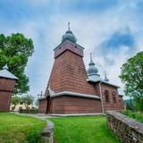 Image: The Orthodox church of Sts Cosmas and Damian in Piorunka