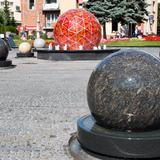 "Image: The ""Solar System"" Fountain, Tarnów"