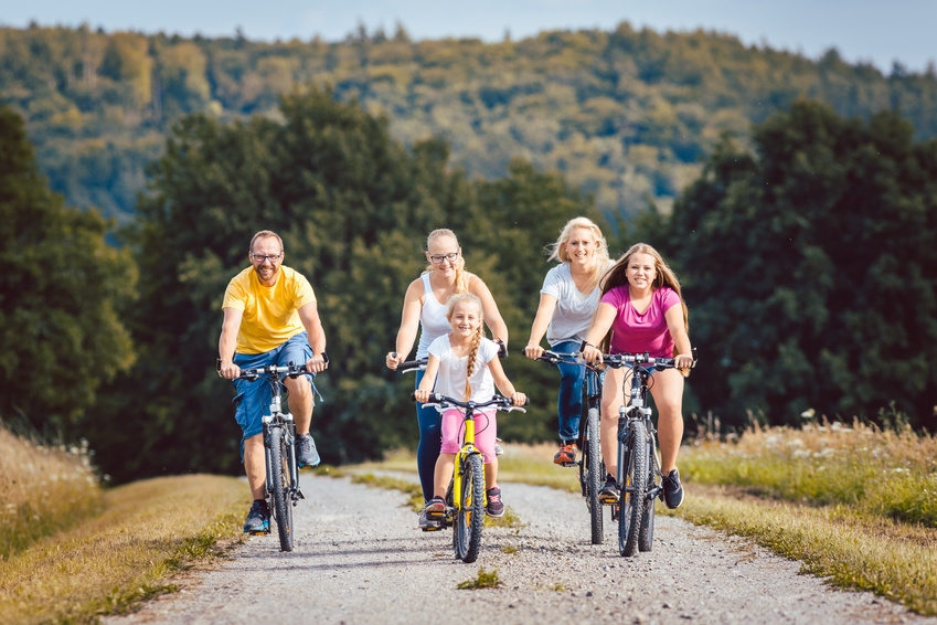 Image: Family Bicycle Rallies – summer in Małopolska on two wheels