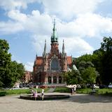 Image: St Joseph's church in Podgórze in Krakow